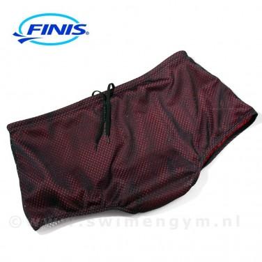 FINIS Drag shorts zwart/rood