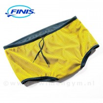 FINIS Drag shorts donkerblauw/geel (andere kant)