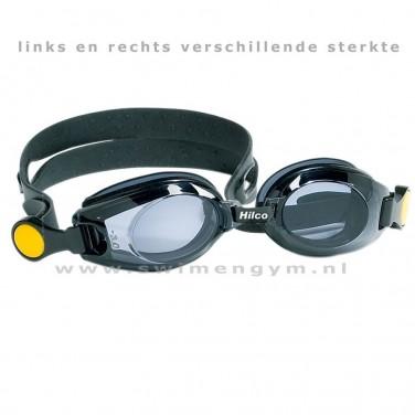 HILCO Optische zwembril voor kinderen zwart
