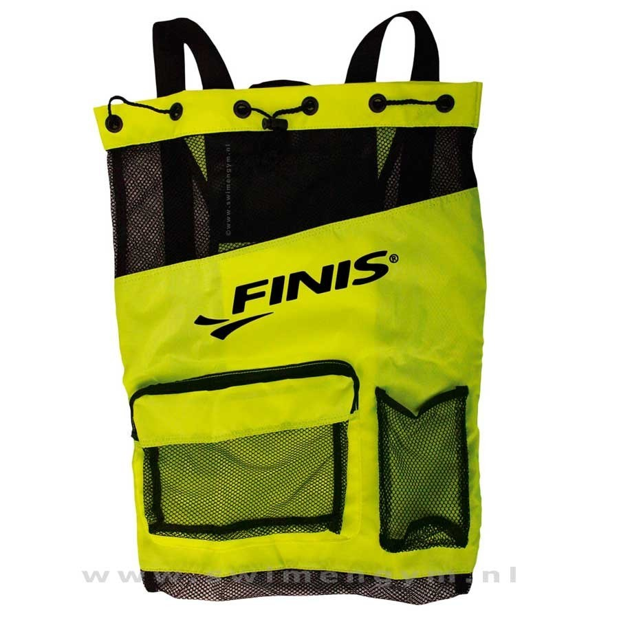 FINIS Ultra Mesh backpack gifgroen